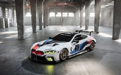 BMW M8 GTE, da Francoforte l'arma per Le Mans