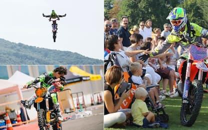 Il grande salto di Vanni: la moto diventa terapia