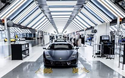 Lamborghini, a Sant'Agata lo stabilimento cresce