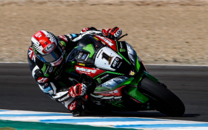 SBK gara 1 a Jerez: vince Rea, sfortunato Melandri