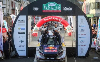 WRC 2017, rally del Galles: emozioni a gogo