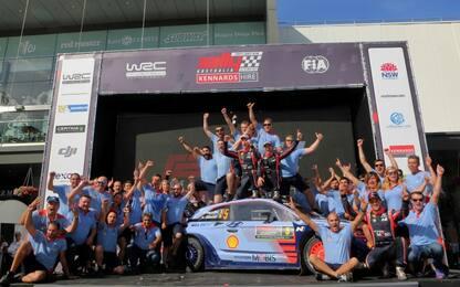 WRC, le pagelle dell'Australia: poker Neuville