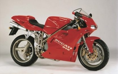 La Ducati 916 compie ben 25 anni