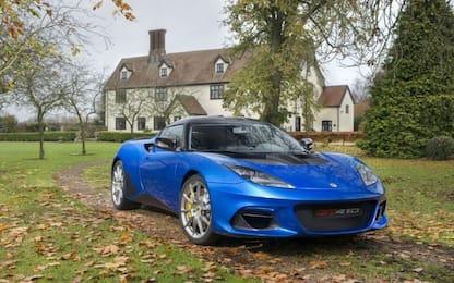 Lotus Evora GT410 Sport, peso piuma e 410 CV