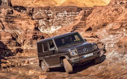 Mercedes Classe G, la nuova generazione