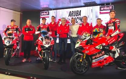 SBK 2018: il team Ducati si presenta