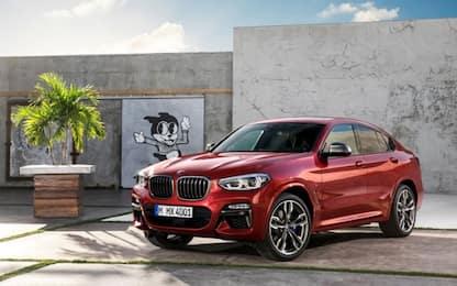 BMW X4, arriva la seconda generazione