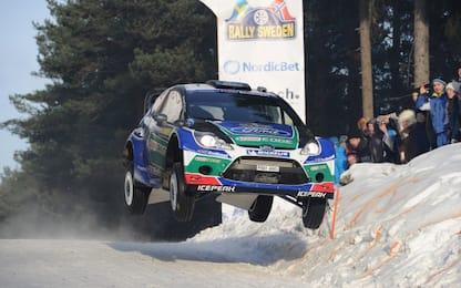 Rally Svezia: meglio Solberg che male accompagnati