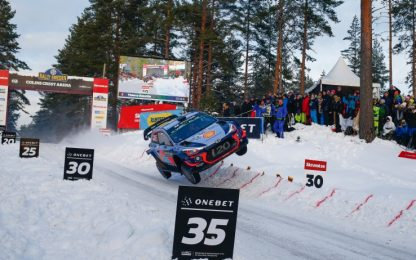 WRC 2018, rally Svezia: Hyundai, la vita è belga
