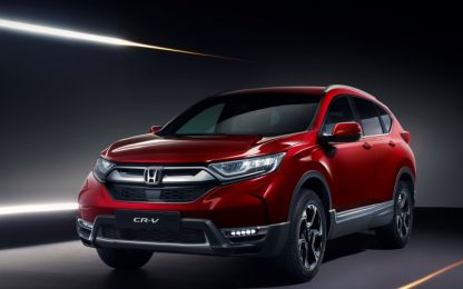 Salone di Ginevra 2018 ecco CR-V di Honda europea