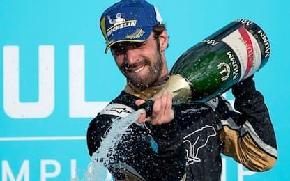 Formula E, Punta del Este. Vince Vergne