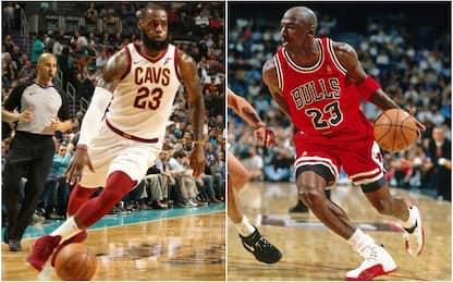 LeBron come Jordan: 866 partite in doppia cifra