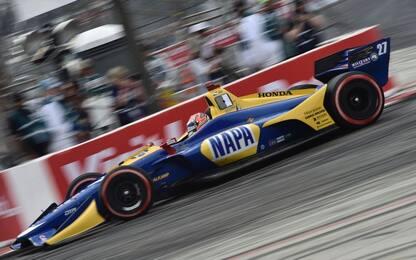 Indycar 2018, a Long Beach vince Alexander Rossi