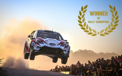 WRC 2018, Tanak stravince in Argentina