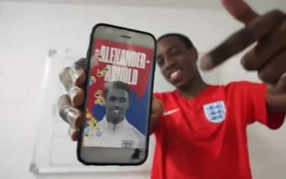 L'Inghilterra svela i convocati, il video è virale