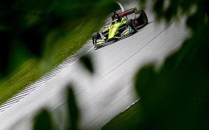Indycar 2018, a Road America vince Newgarden