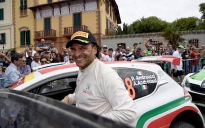 Rally, Andreucci torna in gara dopo l'incidente
