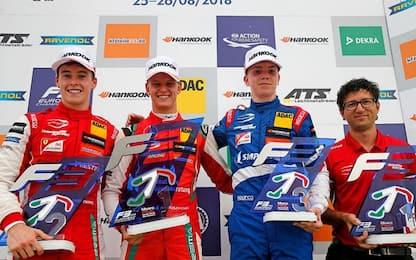 Schumacher Jr. vince ancora, terzo successo