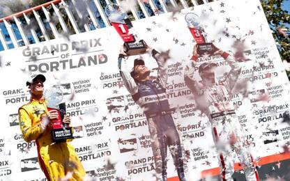 Indycar, vince Sato. Volata per il titolo