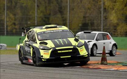 Rally di Monza: Rossi con la Fiesta WRC Plus