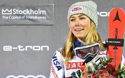 Fenomeno Shiffrin, suo lo Slalom Event a Stoccolma
