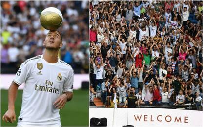 Hazard show a Madrid, ma i tifosi chiedono Mbappé