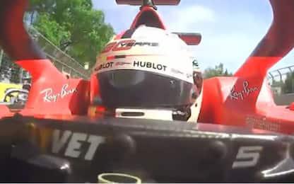 Vettel, c'è un nuovo VIDEO a favore della Ferrari