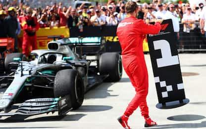 Vettel, la Ferrari presenta istanza di revisione