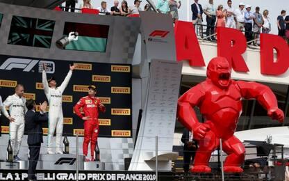 Hamilton inarrestabile, i record dopo GP Francia