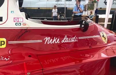 GP Austria, omaggio a Lauda: c'è la Ferrari 312T