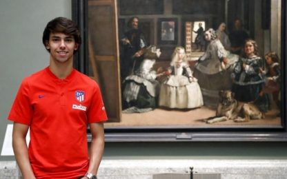 "Joao Felix: ""A 19 anni pronto per l'Atletico"""