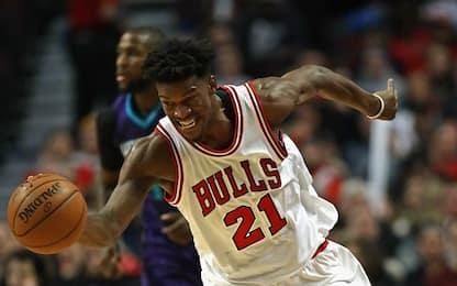 NBA, Jimmy Butler da 52 punti schianta Charlotte