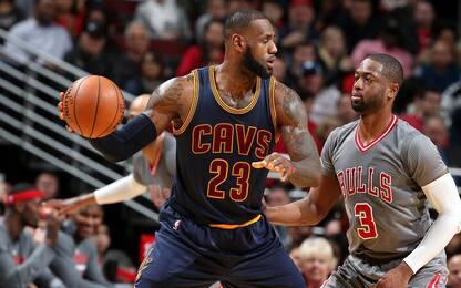 """NBA, Wade consacra LeBron: """"2016 momento storico"""""""