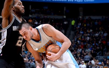 NBA, Gallinari sconfitto male, Belinelli che beffa