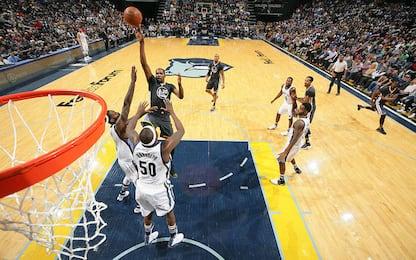 NBA, Golden State vuole vendicarsi di Memphis