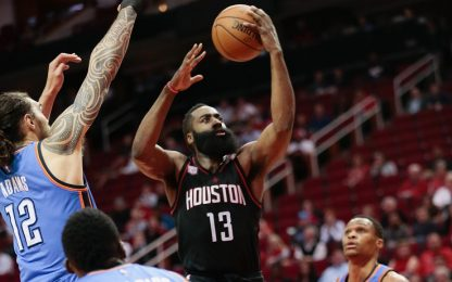 NBA, Westbrook segna 49 punti, ma vince Harden
