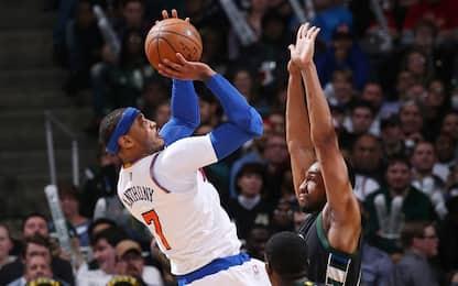 NBA, i risultati della notte: bene Knicks e Cavs