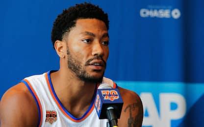 """NBA, Rose spiega: """"La fuga? A casa da mia madre"""""""