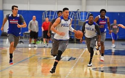NBA, Ben Simmons torna ad allenarsi con i 76ers
