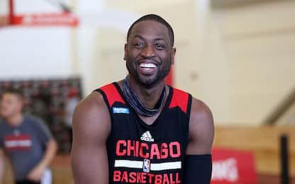 NBA, #raiseit: la strana sfida tra CR7 e D-Wade