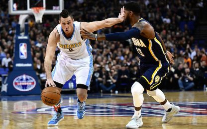 NBA, Gallinari dà il la, tutto facile per Denver