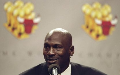 "NBA: ""Non ci sarà mai più un altro Michael Jordan"""