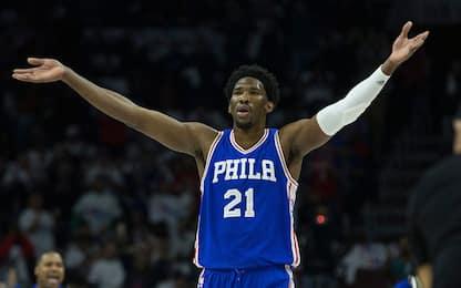 NBA, crisi Charlotte, terza in fila per i Sixers