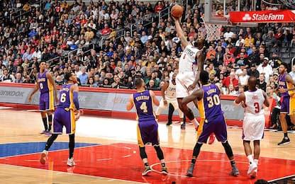 NBA i risultati della notte: Clippers ok nel derby