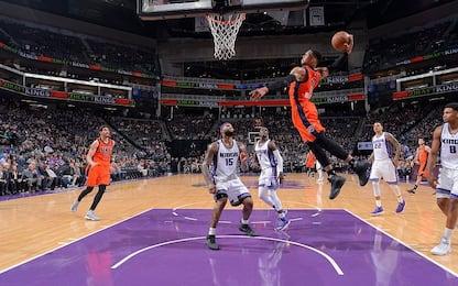 NBA, Westbrook fa 20 e OKC vince a Sacramento