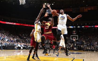 NBA, il meglio di Golden State-Cleveland