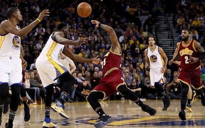 NBA, storie tese tra Draymond Green e LeBron James