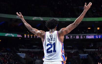 NBA, la rinascita dei Philadelphia 76ers