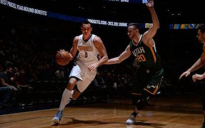NBA, Denver torna a vincere: 11 punti del Gallo