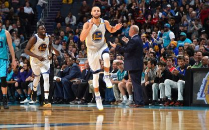NBA, Golden State vince contro Charlotte 103-113